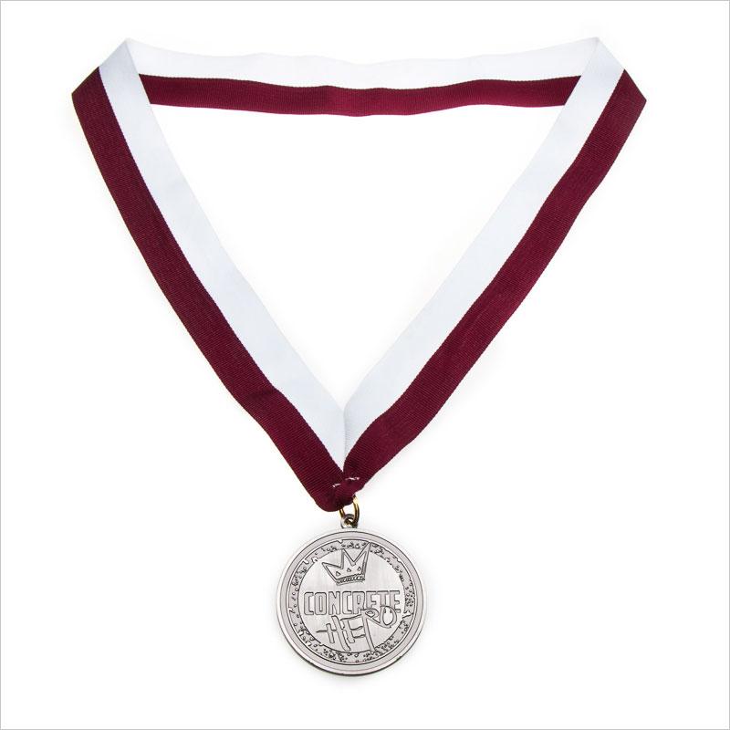 Custom neck ribbons for medals | Designed custom ribbons for