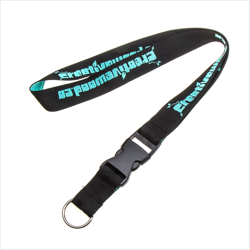 Breakaway Polyester Embroidered Lanyards No Minimum